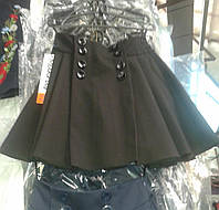Школьная юбочка цвет черный