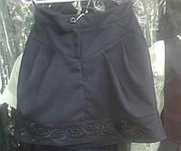 Школьная юбочка с вышивкой