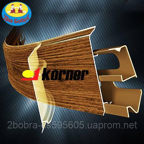 Плинтус Korner EVO - 70 мм., фото 2