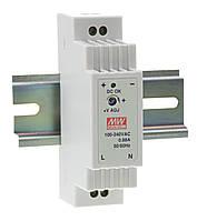 Блок питания Mean Well DR-15-24 На DIN-рейку 15.2 Вт, 24 В, 0.63 А (AC/DC Преобразователь)