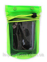 Аквабокс - водонепроницаемый чехол для телефона и документов Зеленый