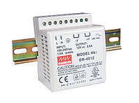 Блок питания Mean Well DR-4515 На DIN-рейку 42 Вт, 15 В, 2.8 А (AC/DC Преобразователь)