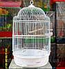 Клетка для мелких птиц. (Белая)