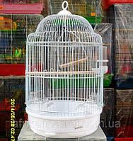 Клетка для мелких птиц. (Белая), фото 1