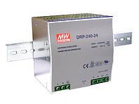 Блок питания Mean Well DRP-240-24 На DIN-рейку 240 Вт, 24 В, 10 А (AC/DC Преобразователь)