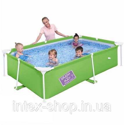 Детский каркасный бассейн Bestway 56220 (239 x 150 x 58 см.) (Зеленый), фото 2