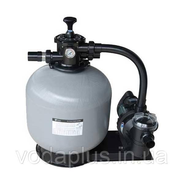 Песочный фильтр для бассейна Emaux FSF 450 8,1м³/час с насосом SS075