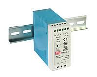 Блок питания Mean Well MDR-40-12 На DIN-рейку 40 Вт, 12 В, 3.33 А (AC/DC Преобразователь)