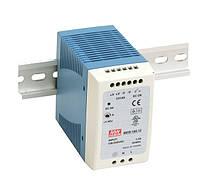 Блок питания Mean Well MDR-100-12 На DIN-рейку 90 Вт, 12 В, 7.5 А (AC/DC Преобразователь)