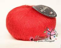 Пряжа Ангора фине Сеам, №181763, красный