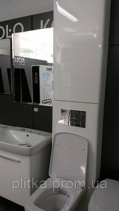 Инсталляция Kolo TECHNIK GT клавиша хром прямоугольная шкаф для инсталляции , фото 2