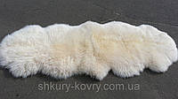 Натуральная новозеландская овечья шкура нежно розового цвета, овчинка в детскую спальню, прикроватная овчина