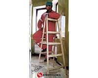 Лестницы и стремянки VIRASTAR Деревянная стремянка-ходуля VIRASTAR 2х4 ступеней