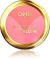 Delia Румяна Multicolor трехцветные, Тон № 02 бежевый