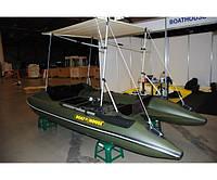 Лодка Катамаран Boathouse fisher-370, фото 1