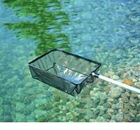 Сачок для водорослей большой, телескопический Oase, 38х26 см