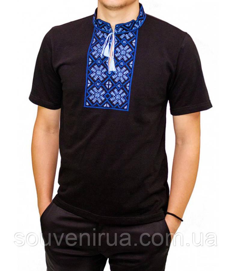 Футболка-вышиванка Гетьман мужская (Патриотические футболки) - Интернет- магазин