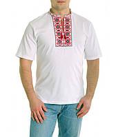 Футболка-вышиванка Светозар мужская (Патриотические футболки)