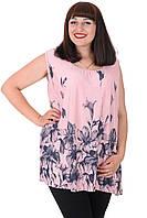 Блуза Fashion 15632-6 Пудра