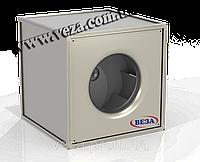 Вентилятор канальный радиальный квадратный с ЕС-двигателем Канал-КВАРК-КП-ЕС-100-100-4-380
