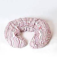 """Универсальная подушка """"Ванильное дерево"""" для беременных и кормления новорожденного (гречневая шелуха) ТМ Макошь"""