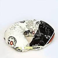 """Универсальная подушка """"Нарисованный день"""" для беременных и кормления новорожденного (холлфайбер) ТМ Макошь"""