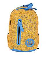 Рюкзак школьный Gorangd 2162-5 Желтый,голубой