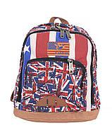 Рюкзак молодежный Lanpad 1802-2 Красный,синий