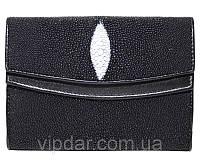 Кошелек из кожи ската / Genuine stingray leather wallet