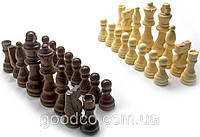Шахматные фигуры деревянные в блистере