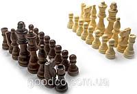 Шахматные фигуры деревянные в блистере, фото 1