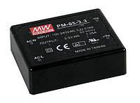 Блок питания Mean Well PM-05-5 На плату 5 Вт, 5 В, 1 А (AC/DC Преобразователь)