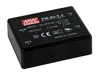Блок живлення Mean Well PM-05-15 На плату 4.95 Вт, 15, 0.33 А (AC/DC Перетворювач)