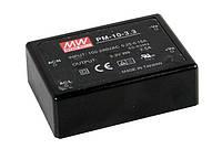 Блок питания Mean Well PM-10-15 На плату 10.05 Вт, 15 В, 0.67 А (AC/DC Преобразователь)