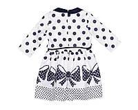 Платье детское Exclusive 4075 Молочный,синий