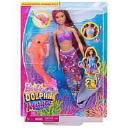 """Русалочка Барбі Чарівна трансформація з м/ф """"Магія Дельфінів/Barbie Dolphin Magic Transforming Mermaid Doll, фото 10"""