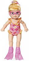 Интерактивная кукла MY LITTLE BABY BORN - Учимся плавать 32 см, с аксессуарами, плавает в воде