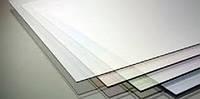 Прозрачный  ПЄТж 1 мм в палитре пластиков Brett Martin