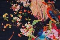 Штапель с рисунком под вышивку,принт  5 Дольче Габана