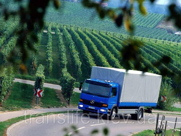 Грузовые перевозки Франция-Украина