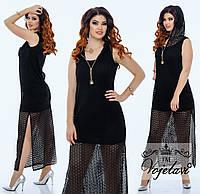 Женский костюм (48.50.52.54)  — трикотаж купить в розницу в одессе  7км