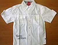Брендовая рубашка летняя для мальчика Gues.