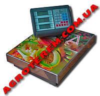 Электронные весы до 150 кг OXI 30 х 40 см  без стойки