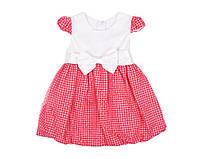 Платье Deva 9902 Красный,молочный