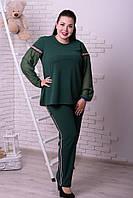 Костюм жіночий блуза і брюки з 48 по 74 розмір, фото 1