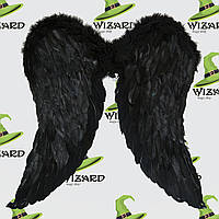 Крылья Амура большие (55х55см) черные