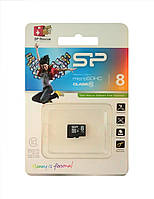 Карта памяти Silicon Power microSDHC 8 GB class 10 (без адаптера)