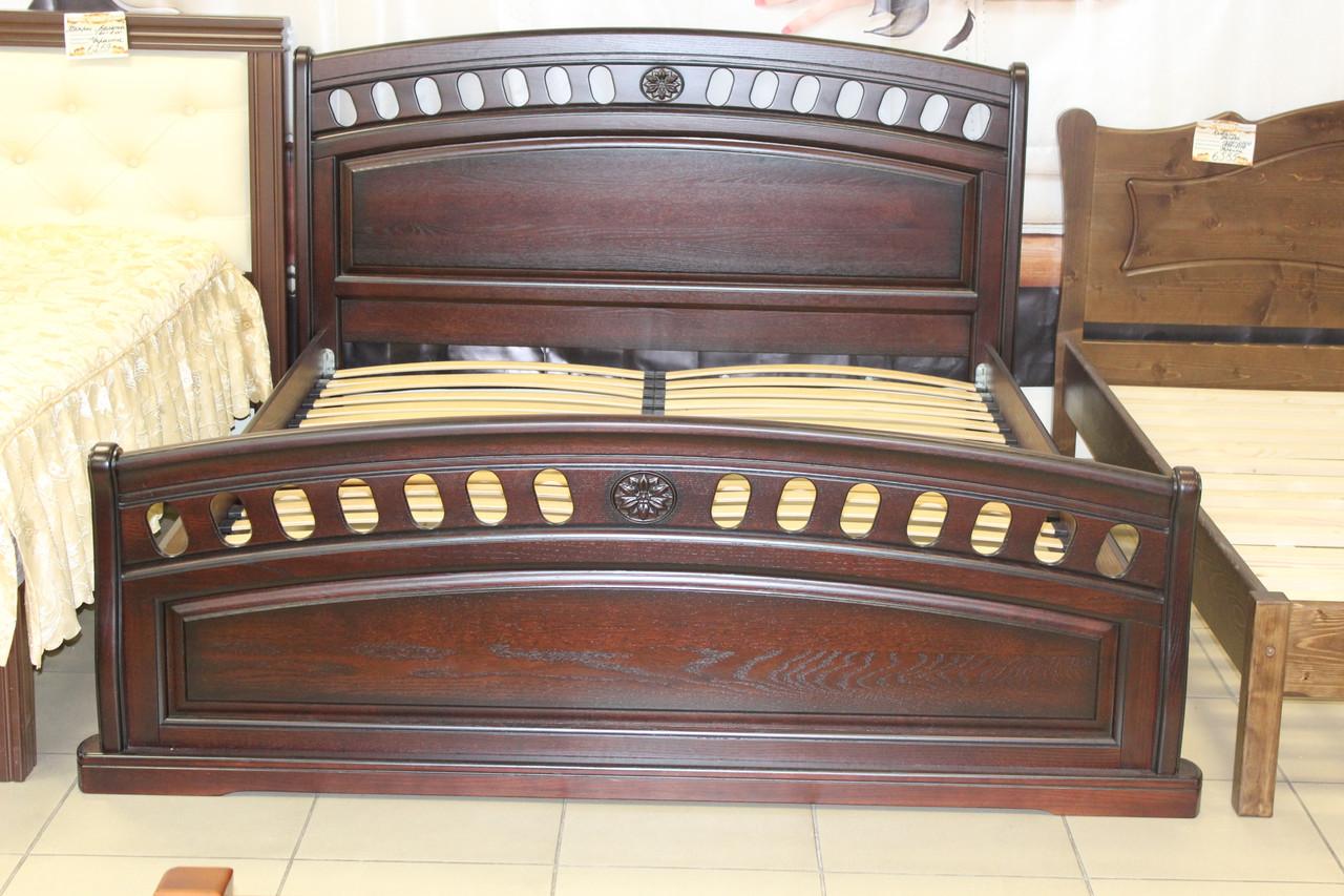 Кровать деревянная 2-2-5-282 ортопедическая