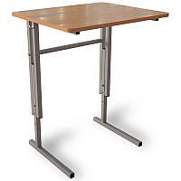 Школьная парта, стол  аудиторный ученический, регулируемый по высоте одноместный
