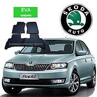 Автоковрики EVA для Skoda Rapid